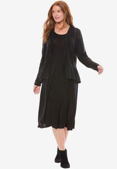 Chelsea Studio® Cold shoulder dress,