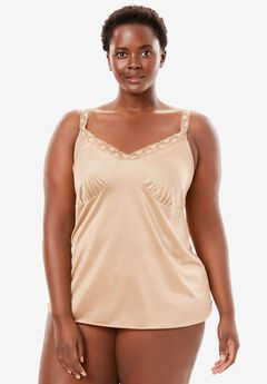 Lace Trim Camisole by Comfort Choice®,