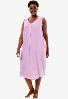 Sleeveless Lounger by Dreams & Co.®, ORCHID PINK