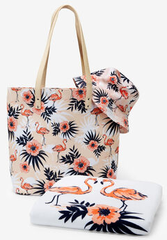 3-Piece Printed Beach Set,