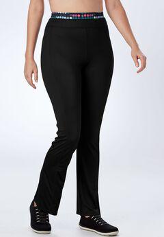 Yoga bootcut pants by FullBeauty SPORT®,