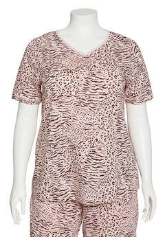 Animal Instinct Cotton Sleep Tee,