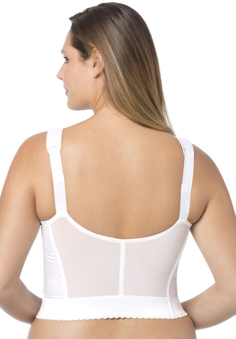 492c020cc0f Exquisite Form® Fully® Front-Close Wireless Longline Posture Bra  5107530