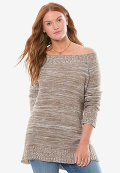 Chelsea Studio® Off-the-shoulder sweater,
