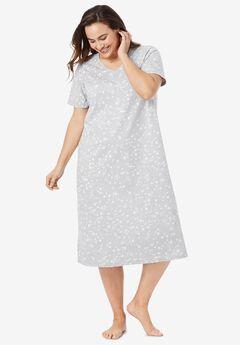 Long Print Sleepshirt by Dreams & Co.®,