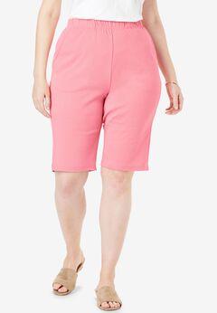7-Day Knit Bermuda Shorts,