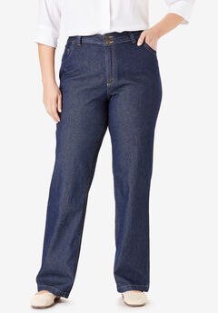Wide Leg Cotton Jean,