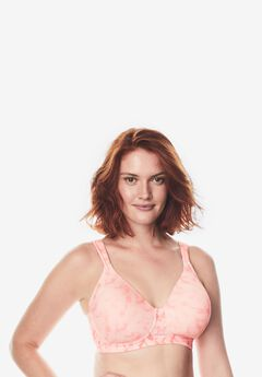 Leading Lady® Brigitte Full Coverage Seamless Wireless Bra #5042,