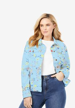 Stretch Denim Jacket,