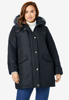 a71d9eb62e2 Plus Size Coats   Jackets by Woman Within