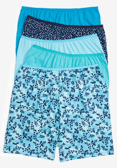 5-Pack Cotton Boxer by Comfort Choice®, BLOSSOM DOT PACK