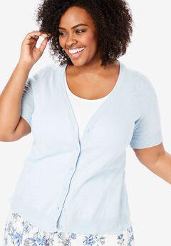Cool cotton cardigan sweater ,