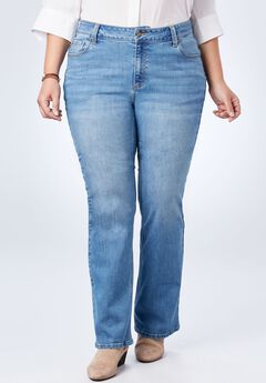 Perfect Bootcut Curvy Jean,