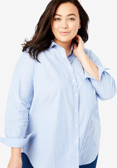 8d621ce4907 Plus Size Long Sleeve Shirts   Blouses for Women