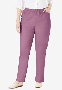 Straight Leg Fineline Jean, BERRY MIST
