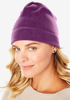 Fleece Hat, PLUM PURPLE