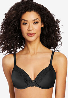 Bali® One Smooth U® Ultra Light Lace with Lift Bra #3L97,