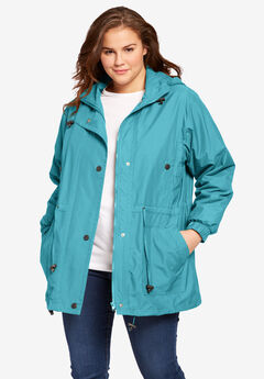 Weather-Resistant Taslon® Anorak,