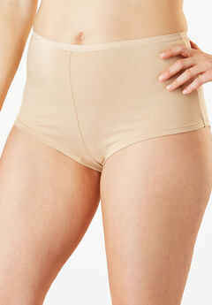 Hipster Stretch Cotton Panty By Comfort Choice®, NUDE