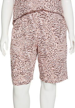Animal Instinct Cotton Sleep Short,