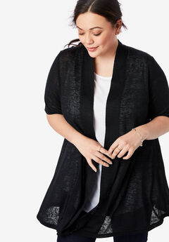 9a1db5e8e8a7 Women s Plus Size Cardigans   Cardigan Sweaters