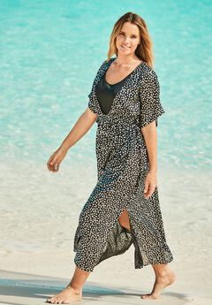 Long Caftan Cover Up,