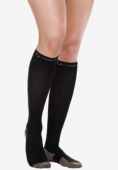 Copper Compression Socks, BLACK