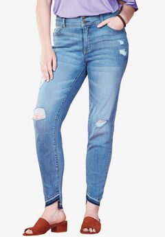 Released Hem High Rise Skinny Jean by Chelsea Studio®,