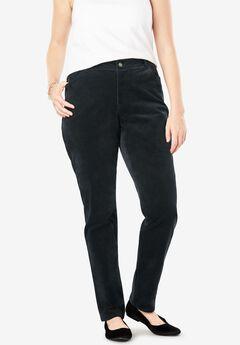 Velvet Print Slim Pant,