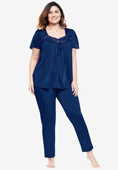 Silky 2-Piece PJ Set by Only Necessities®,