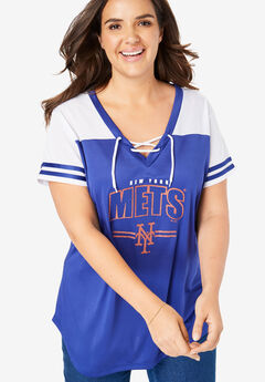MLB Team Lace-Up Tee,