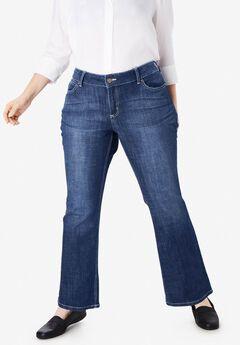 Bootcut Jean by Wrangler®, DARK BLUE