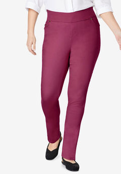 Smooth Waist Skinny Jean, DEEP CRANBERRY