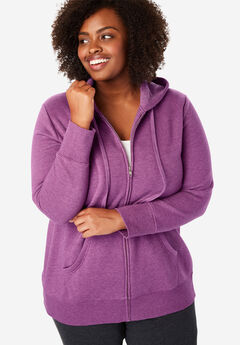 Better Fleece Zip-Front Hoodie,