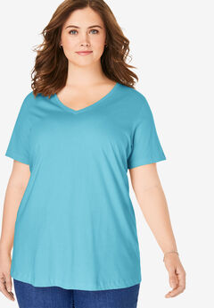 Perfect V-Neck Tee,