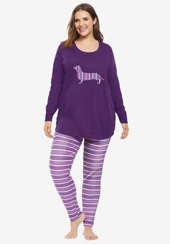 2-Piece PJ Legging Set ,