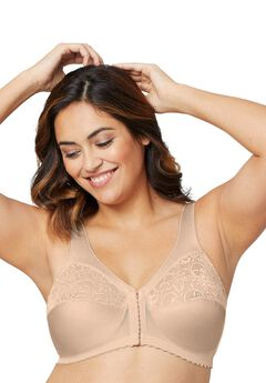 Glamorise® MagicLift® Front Close Bra,