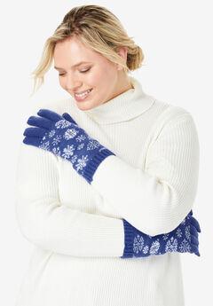 Knit Gloves,