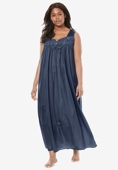 Long Tricot Knit Nightgown by Only Necessities®,