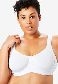 Outer Wire Bra by Comfort Choice®, WHITE