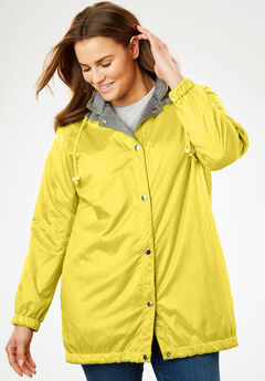 Cozy Fleece Nylon Reversible Jacket,