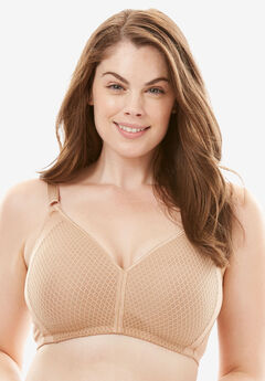 Wireless Bra by Comfort Choice®, NUDE