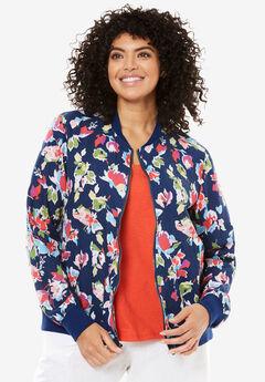 Linen Bomber jacket,