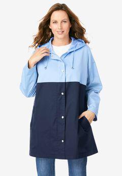 Colorblock Anorak Jacket,