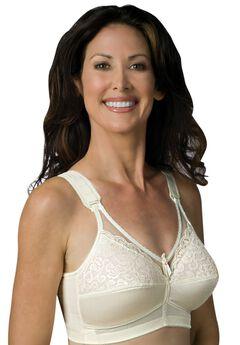 Sheer Comfort Back Hook Mastectomy Bra by Jodee ,