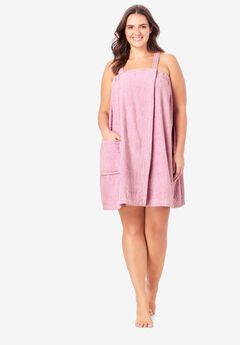 Dreams & Co.® Terry Towel Wrap, PINK