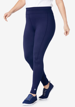 Leggings by FullBeauty SPORT®, EVENING BLUE