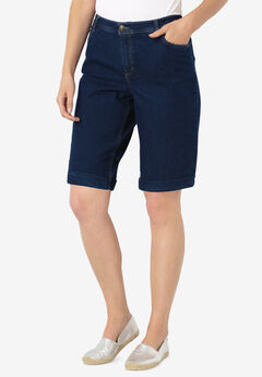Stretch Jean Bermuda Short,