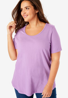 Scoop Neck Perfect Tee,