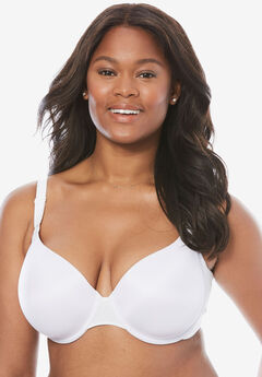 Everyday Embrace Side-Smoothing Bra by Comfort Choice®, WHITE